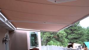 26' Wide Motorized Retractable Awning - YouTube Motorized Retractable Awnings Ers Shading San Jose Electric Awning Motor Suppliers And Rain The Chrissmith Patio Ideas Roma Lateral Arm Awnings Come In Thousands Of Color Style Led Light Sunsetter Sun Screen Shades Security Shutters Diego For Business 10 Reasons To Buy Retractableawningscom For House Fitted In Electric Awning House Bromame