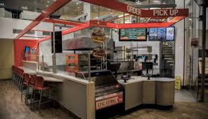 As It Completes A Company Wide Store Refresh Its New Pizza Theater Design Includes Little Details Like Steps For Kids To Watch The Dough Being Tossed