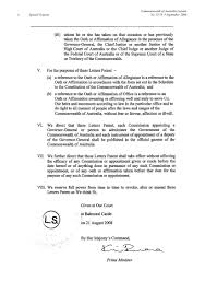 Letters Patent Relating To The Office Of GovernorGeneral