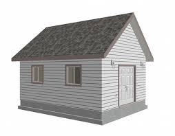 16x20 Gambrel Shed Plans by Garden Shed Plans And Blueprints From The Garden Shed