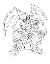 Robots Black Metal Dragon Coloring Pages