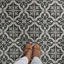 Home Depot Merola Penny Tile by Merola Tile Braga Black 7 3 4 In X 7 3 4 In Ceramic Floor And