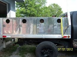 UKC Forums - Custom Built Dog Boxes, Tool Boxes, Storage Boxes ... Truck Tool Box Dog Bloodydecks Hunting Pinterest Dogs Dogs 34 In Dog Box Tool Custom Tting Accsories Formulaoldiescom Owns Michigan Sportsman Online And Shotgunworldcom Homemade Special Order Hunter Series Triple Compartment Without Rds Alinum Boxes Like New From Ft Utility Crates Valley Eeering For Your Rig Picturestrucks 4wheelers Etc Biggahoundsmencom