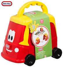 Little Tikes Classic Cosy Coupe Dough Activity Truck Set Play Case ...