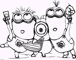 Innovative Ideas Popular Coloring Pages Fun The Most Minions