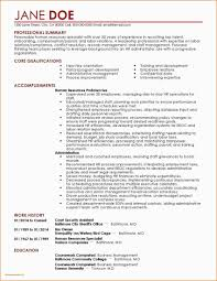Sample Resume For Higher Education Administration New Examples ...