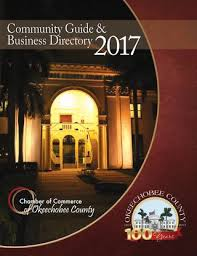 Chamber Of Commerce Okeechobee County 2017 Guide By