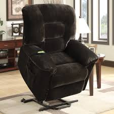 Power Lift Recliner Chocolate Walmart