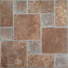 Stainmaster Vinyl Tile Castaway by Stainmaster 18 In X 18 In Groutable Copper Peel And Stick Slate