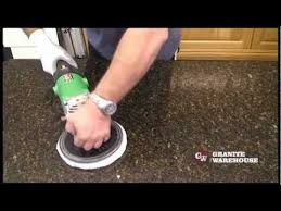 How to Re Polish a Granite or Engineered stone top MB Stoncare