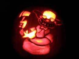 Clown Pumpkin Patterns by 30 Awesome Pumpkins Artwork Of The Simpsons Walyou