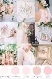 37 Blush Pink Wedding Colour Palettes Theme