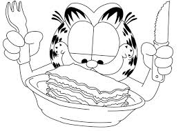 Garfield Coloring Pages Prints And Colors