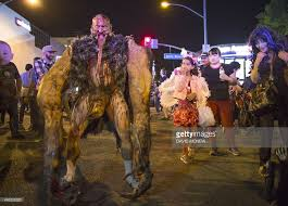 West Hollywood Halloween Carnaval 2015 by Joe Castro A Special Effects Designer Dresses As A Monster At