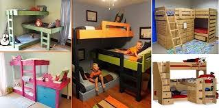 Build Your Own Bunk Beds Diy by Triple Bunk Bed Design Ideas Home Design Garden U0026 Architecture