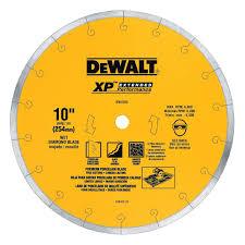 Sears Canada Tile Saw by Dewalt Premium Xp4 Tile Blade