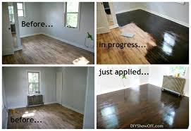 brilliant on floor on restaining hardwood floors darker simply