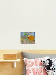 malerei kunst vincent gogh gemälde künstler das schlafzimmer fotodruck