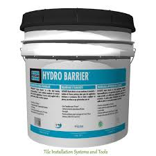 Tile Adhesive Over Redguard by Laticrete Hydro Barrier 1 Gallon Tile Grout Amazon Com