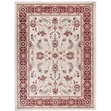 carpeto orientteppich teppich creme 250 x 350 cm ornamente klassisch muster wohnzimmer schlafzimmer esszimmer