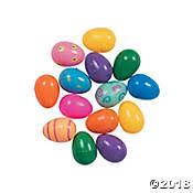 Mega Plastic Easter Egg Assortment