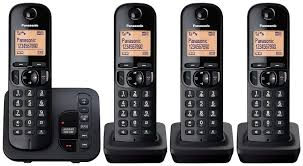 Panasonic KX-TGC224EB | Quad Pack | From £82.49 - PMC Telecom Panasonic Cordless Phone Plus 2 Handsets Kxtg8033 Officeworks Telephone Magic Inc Opening Hours 6143 Main St Niagara Falls On Kxtg2513et Dect Trio Digital Amazonco Voip Phones Polycom Desktop Conference Kxtg9542b Link2cell Bluetooth Enabled 2line With How To Leave And Retrieve Msages On Your Or Kxtgp500 Voip Ringcentral Setup Voipdistri Shop Sip Kxut670 Amazoncom Kxtpa50 Handset 6824 Quad 3line Pbx Buy Ligo Systems