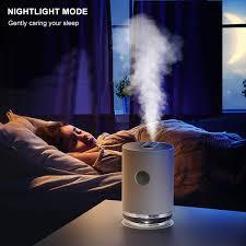 schlafzimmer gifort diffus ultraschall luftbefeuchter wei