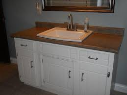 Home Depot Sinks Drop In by Kohler Archer Drop In Vitreous China Bathroom Sink In Sandbar With