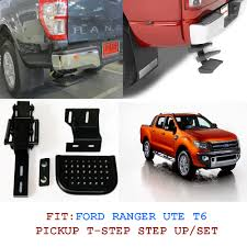 Fit 11+Ford Ranger Ute T6 Rear Step Up T Step Backup Step Set Xl Px ...