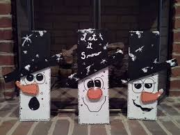Snowmen From Pallet WoodMade By JoAnn JKS Krafty Korner