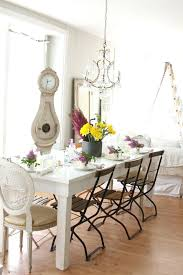 Shabby Chic Dining Room Tables Inspired Grandfather Clocks For Sale In With