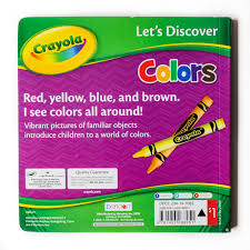 Crayola Bathtub Fingerpaint Soap by Let U0027s Discover Crayola Education Board Books Numbers And Colors
