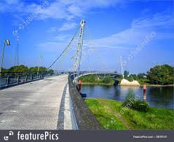 100 Magdeburg Water Bridge Architecture A Pedestrian Bridge Over The River Elbe At