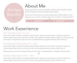 Light Pink Resume Template