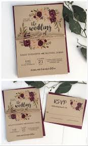 15 Fresh Rustic Wedding Invites