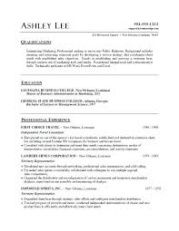 Ms Word Resume Format Document Beautiful Template