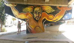 Chicano Park Murals Map by Artwork By Chicano Movement U201cartivist U201d Mario Torero From The