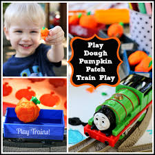 Thomas The Train Pumpkin Designs by Play Dough Pumpkin Patch Train Fall Invitations To Play