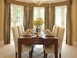 Dining Room Curtain Designs Window Curtains Ideas Bay Interior