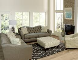 Craftmaster Sofa In Emotion Beige by England Furniture Leather Sectional With Cuddler Seat The Cream