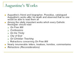 November 2014 Confessions Of A by 1 Lecture 19 Augustine And Confessions Dr Ann T Orlando 4