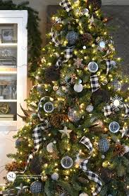 Black And White Plaid Christmas Tree Michaelsmakers