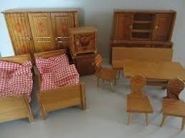 vintage puppenstube bauernmöbel bauernstube schlafzimmer