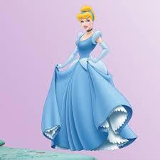 Fathead Princess Wall Decor by Disney Cinderella Wall Decal Hayneedle