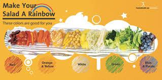 Salad Bar Tabletop Sign