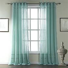 teal sheer curtains teawing co