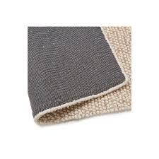 teppich design rechteckig 230 x 160 cm bader in wolle beige