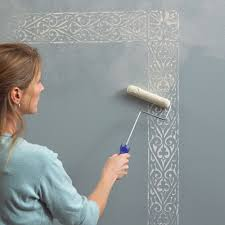 Here Are Some Wall Painting Stencils Design Patterns That Can Be Used To Play Up Your Plain Walls