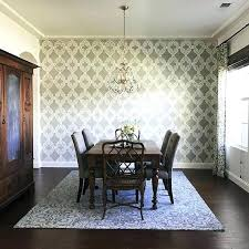 Dining Room Wallpaper Accent Wall Breathtaking Contemporary Best