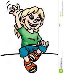Girl Waving Hi Clipart